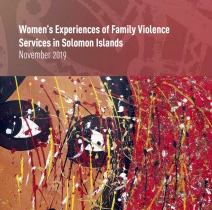New report on family violence services launched today